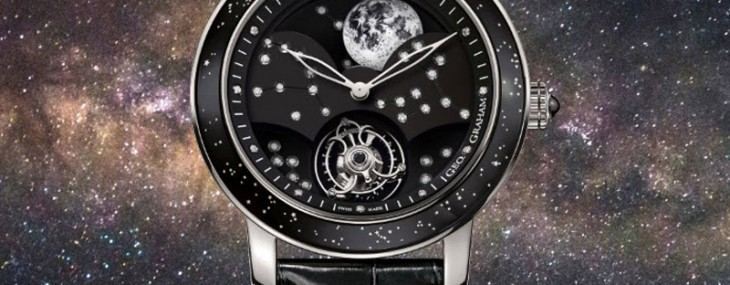 Graham's Geo.Graham The Moon in White Gold