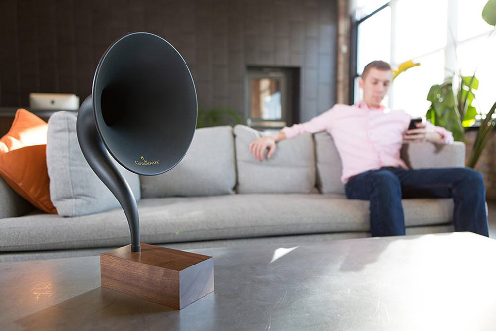 Gramovox - Retro Bluetooth Gramophone Speaker