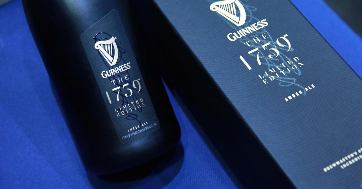 Luxury Beer - Guinness The 1759