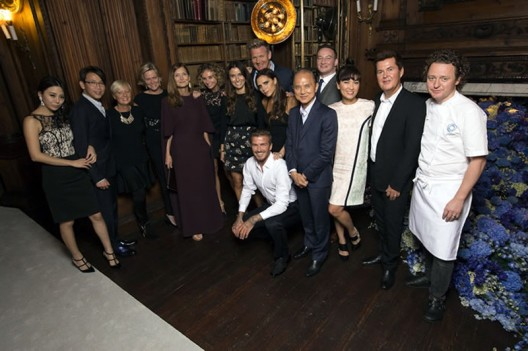 Global Arrive of Diageo New Single Grain Scotch Whisky with Beckham and Fuller