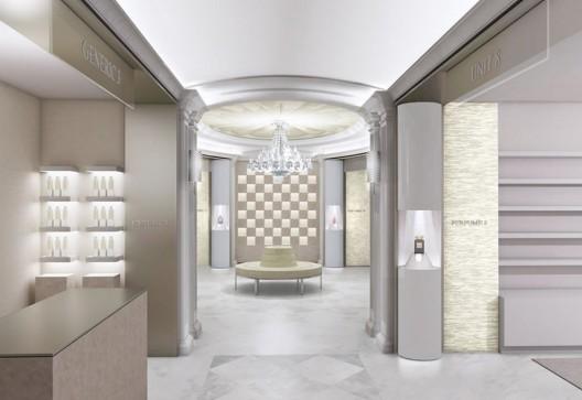 Harrods Boasts Salon De Perfums
