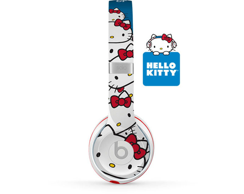 Hello kitty headphones by beats by dr dre for 40th anniversary
