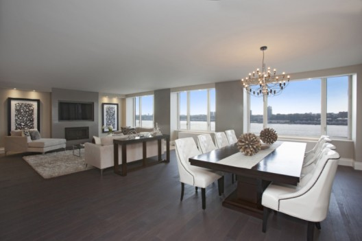 Luxury Penthouse With Panoramic Views of the Hudson River on Sale for $10,7 Million