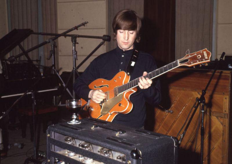 """John Lennon's """"Paperback Writer"""" Guitar Goes Under the Hammer"""