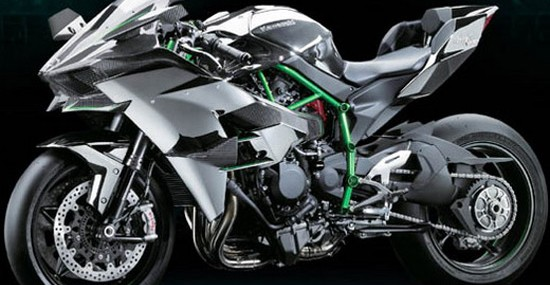 Kawasaki Ninja H2R With 300HP