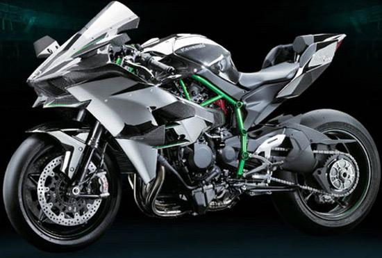 Kawasaki Ninja H2R With 300HP