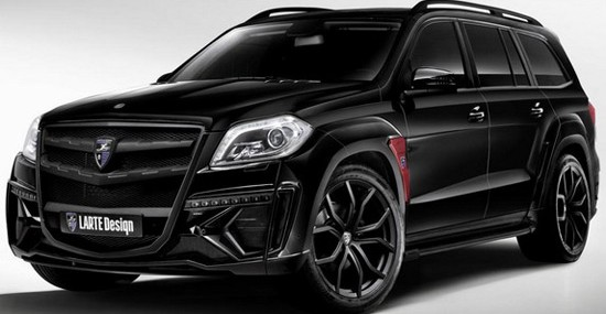 Larte Design Mercedes GL Black Crystal In Essen