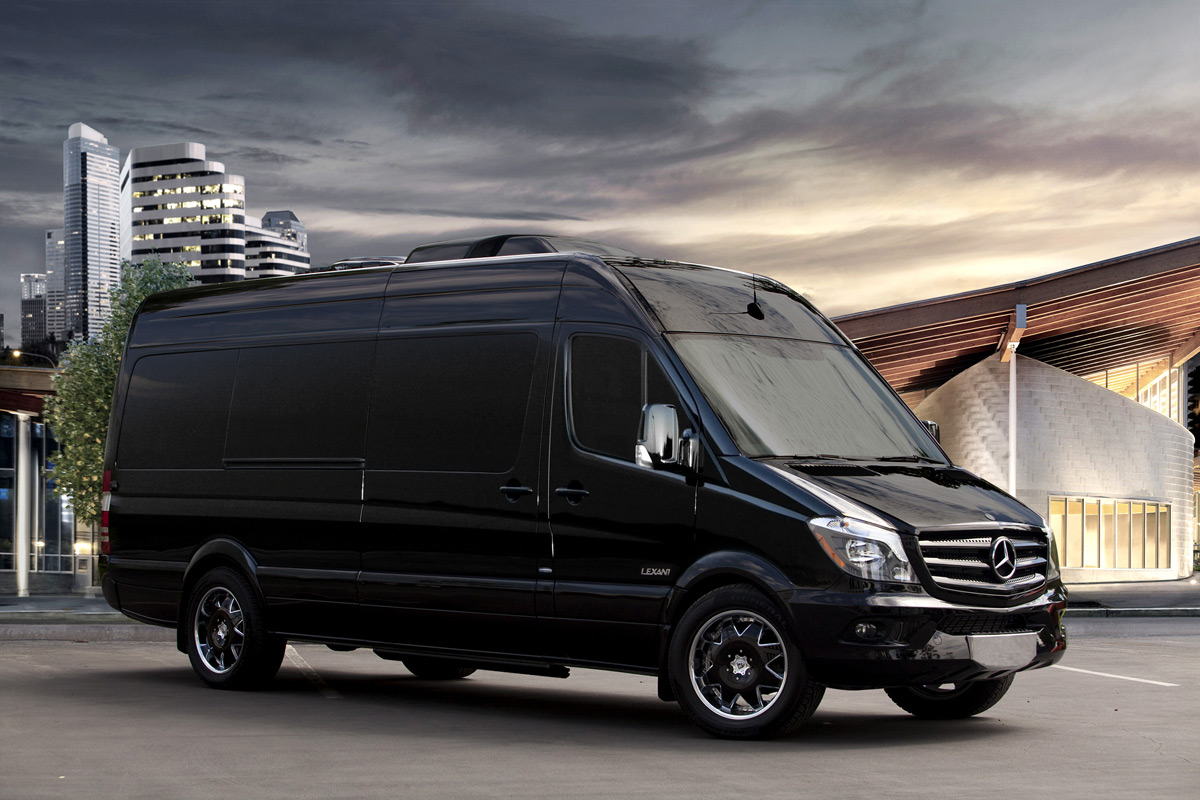 Andalucia Mercedes Sprinter Conversion by Lexani Motorcars