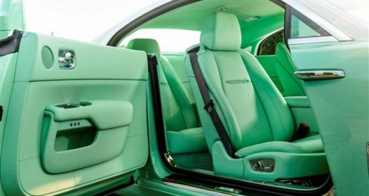 Lime Green Rolls-Royce Wraith For Michael Fux