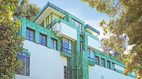 Lloyd Wright-designed Residence in Los Feliz Hills Back on the Market