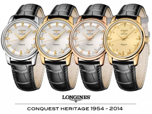 Longines Conquest Heritage 1954-2014 Watches