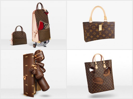 Louis Vuitton invites six guest artists and design legends to create limited-edition leather goods using the brand's signature monogram print.