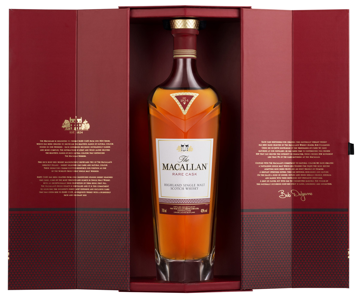 New Macallan Rare Cask Whisky With Ruby Hue