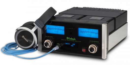 McIntosh Finally Designed Headphone Amplifier - MHA100