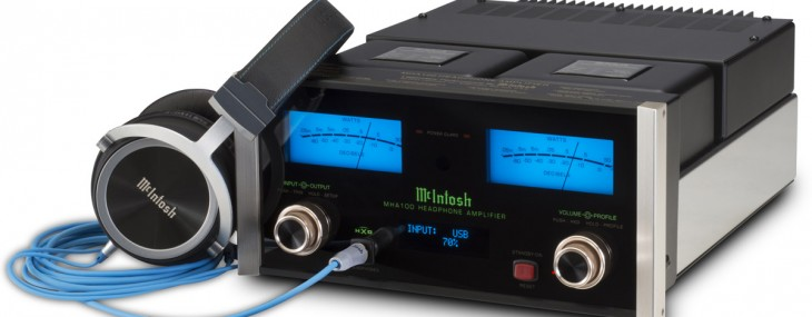 McIntosh Finally Designed Headphone Amplifier - MHA100