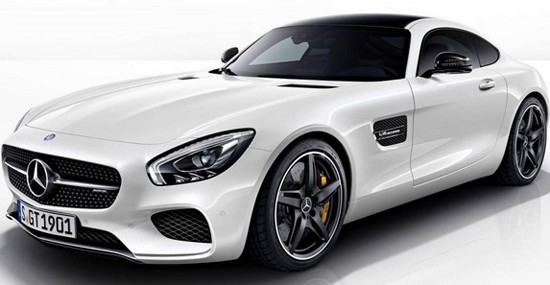 Mercedes AMG GT Night Package
