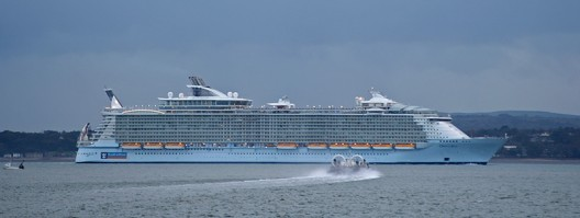 Oasis Of The Seas - World's Largest Cruise Ship Sails from Southampton after UK Stop-off