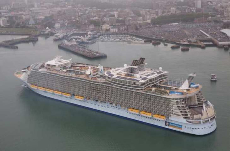 Oasis Of The Seas  World39s Largest Cruise Ship Sails From Southampton Af
