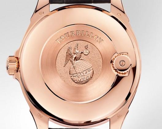 Limited Edition Omega De Ville Central Tourbillon Chronometer With Diamonds