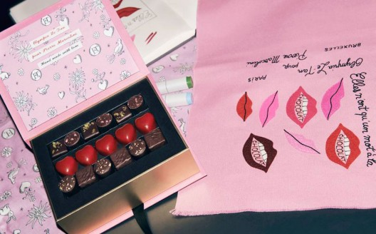 A new collaboration with chocolatier Pierre Marcolini showcases accessory designer Olympia Le-Tan's beguiling blend of Gallic style and British eccentricity