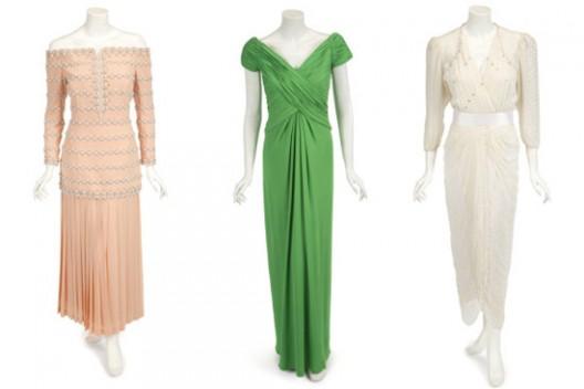 Princess Diana's Four Dresses Go Under The Hammer