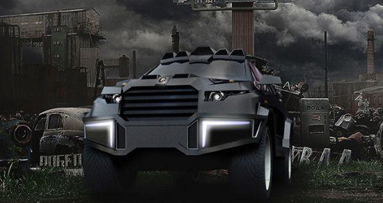 Dartz Motorz has released a new images which announced theirs new creation, model Prombron Black Shark