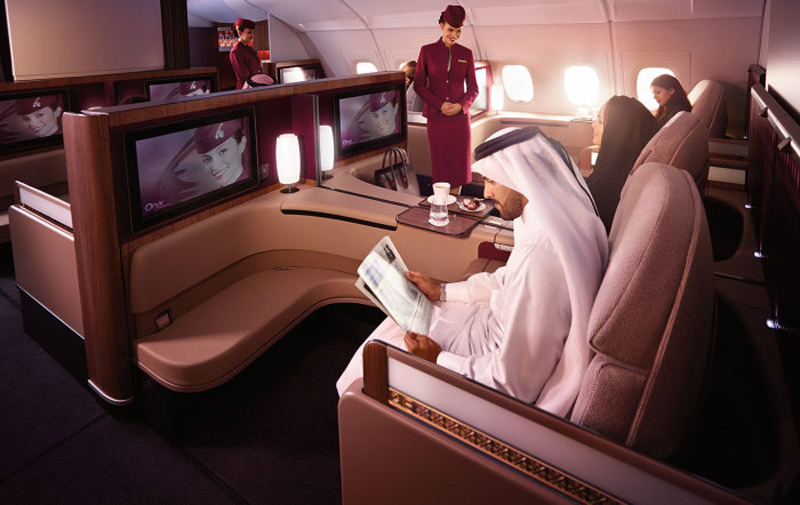 Qatar Airways' New £4,000 First Class Suites