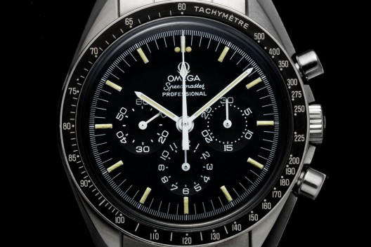 Reinhard Furrer's Omega Speedmaster at Bonhams Auction