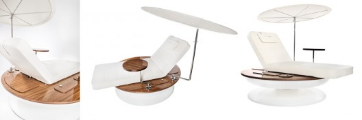 Remmus Sun Lounger Turns With the Sun