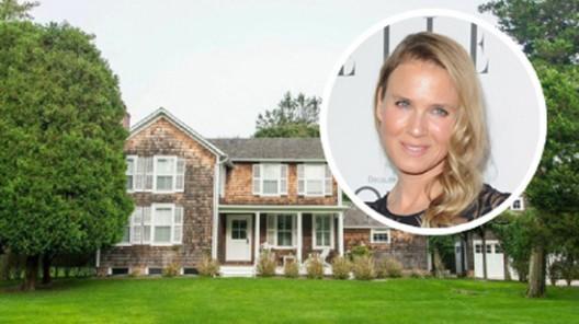 Renée Zellweger's East Hampton Estate on Sale for $4,45 Million