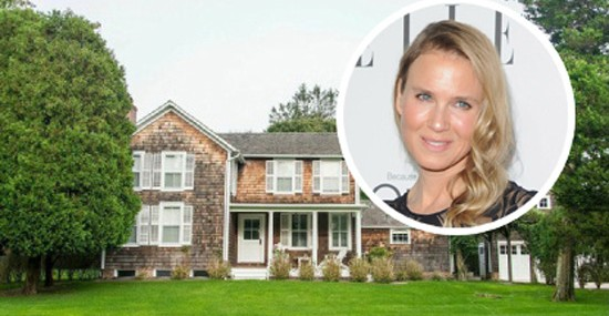 Renée Zellweger's East Hampton Estate on Sale for $4,45 Million