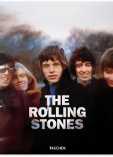 Rolling Stones Autographed Coffee Table Book