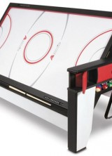 Two In One – The Rotating Air Hockey To Billiards Table