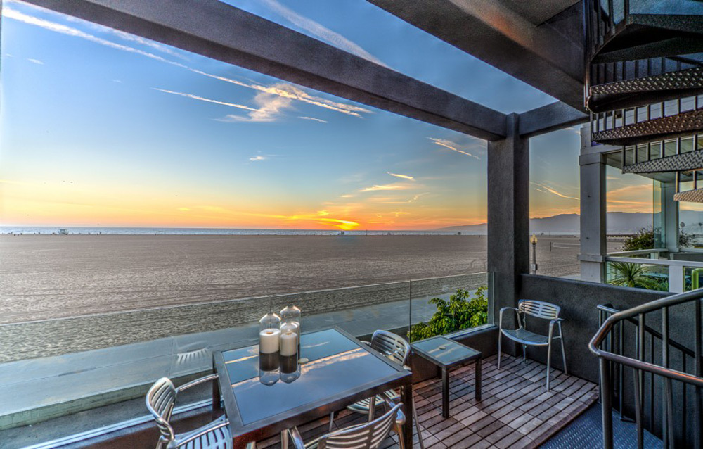 Beachfront Home on the Historic Santa Monica Gold Coast on Sale