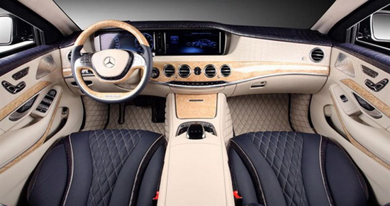 TopCar Mercedes S Guard W222 With Crocodile Leather