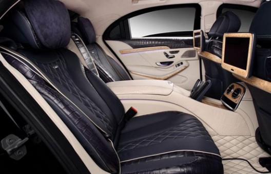 TopCar Mercedes S Guard W222 With Crocodile Leather