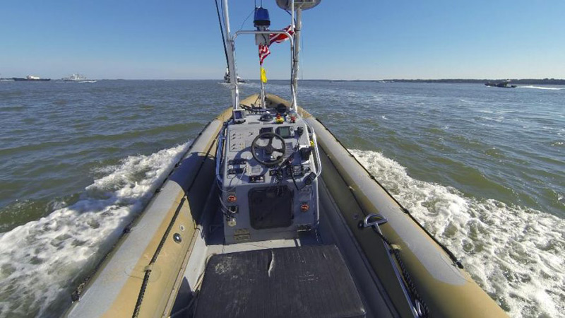 Navy's New Unmanned Swarm Boats Make Debut