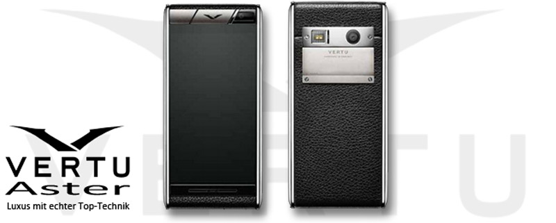 Vertu Aster Finally Arrived in UK