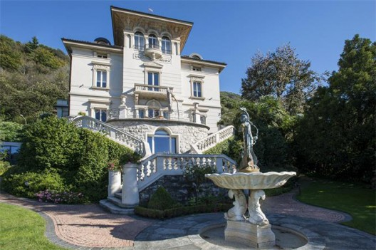 Real Art Nouveau Jewel on the Shores of Lake Lugano