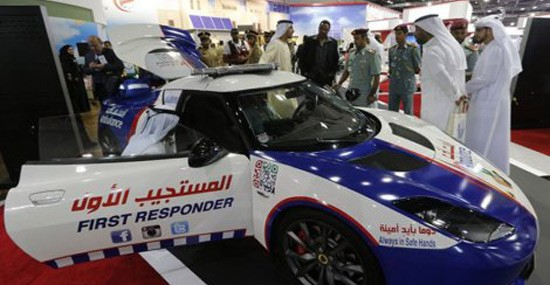 World's Fastest Ambulance Revealed in Dubai