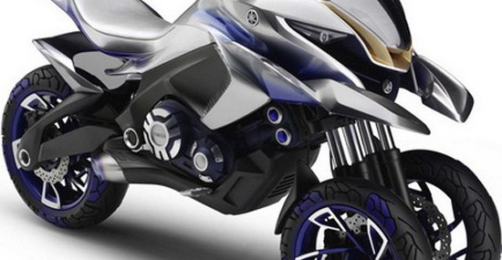 Futuristic Yamaha 01Gen Motorcycle