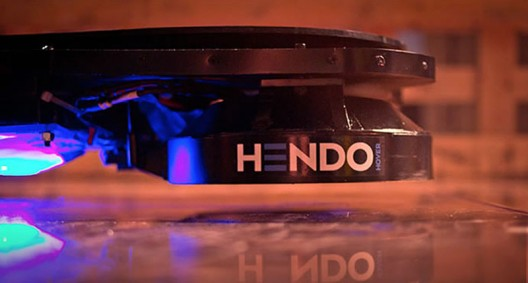 World's First Real-life Hoverboard - Hendo Hoverboard