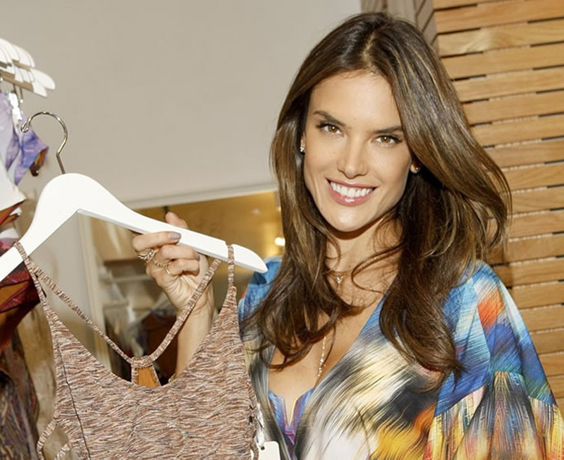 Alessandra Ambriosio Launches Swimwear Collection