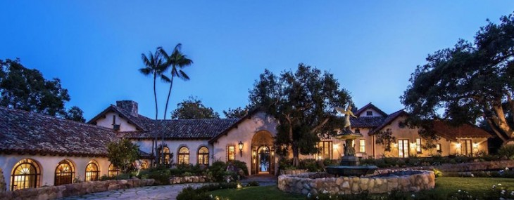 1920′s Spanish Revival Overlooking Santa Barbara on Sale