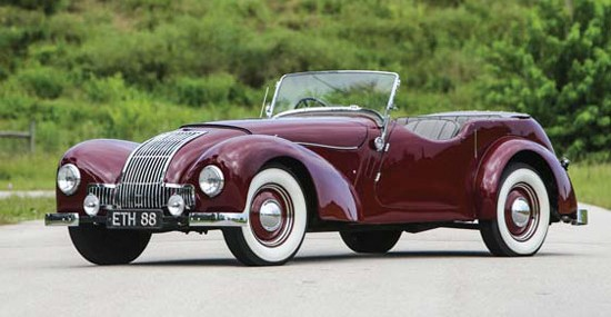 Auctions America Offers 1948 Allard L-Type Drophead Coupe
