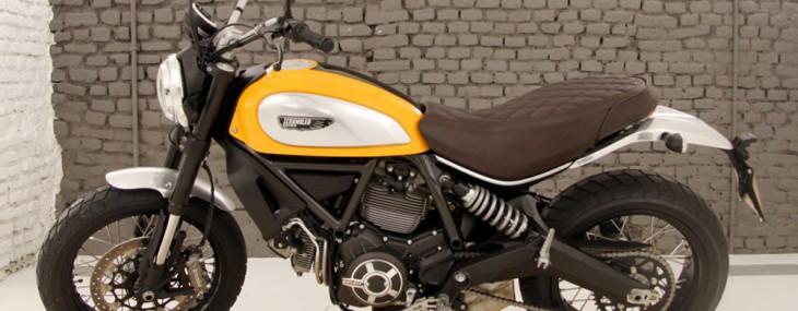 2015 Ducati Scrambler - Retro-hued Roadster