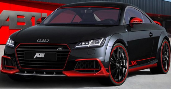 ABT Sportsline will, at this year's fair in Essen, expose new TT Coupe