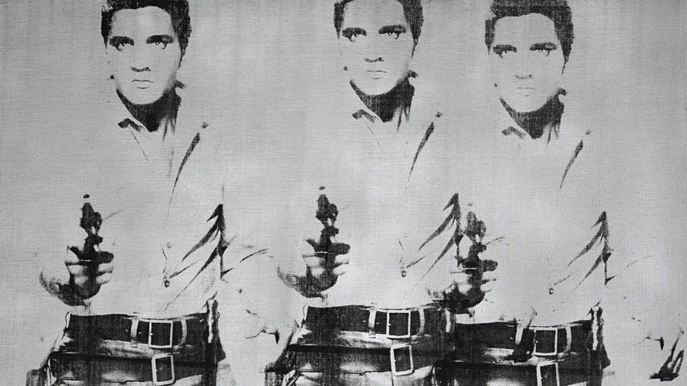 Andy Warhol's Triple Elvis Artwork Sold for $81.9 Million at Christie's