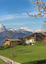 Modern Austrian Estate Overlooking Salzburg Mountain on Sale