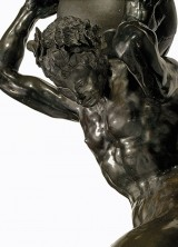 Bacchic Figure Supporting The Globe Leading Christie's Inaugural New York Exceptional Sale